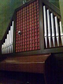 Organo Ruffatti in Cripta