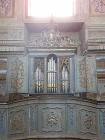Organo Pietro De Simone, 1766