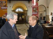 Pirmin Spiegel, Hauptgeschäftsführer MISEREOR beim Besuch in St.Marien Liebfrauen am 9. März 2014