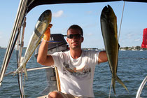 Pêche au Mahi-Mahi dans le Gulf Stream