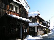 川島酒造 松の花 酒蔵