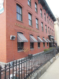 Cobblestones is in a Landmark Building on Dutton Street