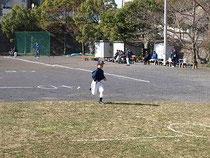 Bチーム50m走
