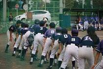 東京新聞旗争奪 野球大会 1回戦