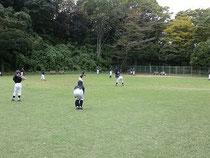 Bチーム午後練習風景