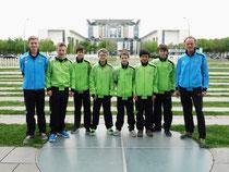 GSS-Tischtennisspieler der Wettkampfklasse III mit Timo Seliger,  Kai Niepert, Tobias Kleine Trimpe, Luke Schönhoff, Philipp Kuhnert, Leon Behrensen, Timm Kröger und Betreuer Bernd Lüssing.