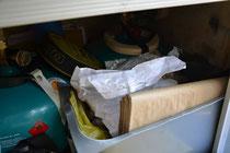Schrank 2 rechts unter dem Gaskocher