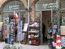 Lübeck Laden: Außenansicht