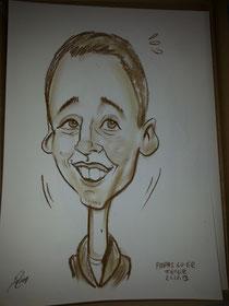Karikatur von Dezember 2013