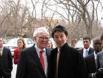 写真: Buffett訪問