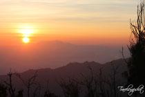 Sonnenaufgang Puncak Seruni
