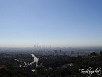 Blick über LA