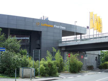 Lufthansa First Class in Frankfurt Airport