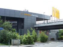 Lufthansa First Class in Frankfurt Airport