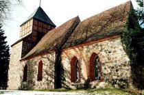 Die einzige dreiteilige Feldsteinkirche in der Prignitz