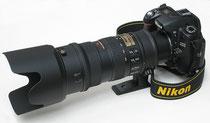 Nikon D600 avec 70-200mm f2.8