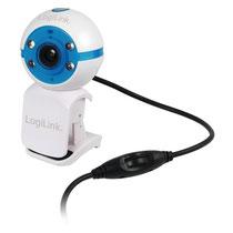 Webcam mit LED und Mikrofon