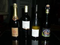 champagne,vins,bière du gite