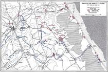 Vorstoß auf den Quineville Höhenzug -  Erste Phase, 8-11 Juni 1944