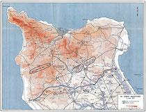 Operationsziele für das VII Corps, 19. Juni 1944