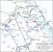 Sicherung der Nordflanke  8. - 14. Juni 1944