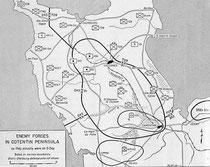 Deutsche Truppen auf dem Cotentin am D-Day
