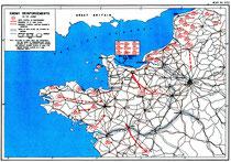Deutsche Verstärkungen für die Normandiefront