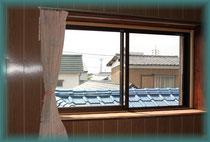 南側出窓(床面+900mmH)