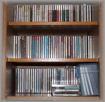 他人の書棚を占領する私のCD