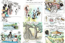 Des pages du Carnet du Sénégal