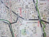 東京府東京市小石川区の一帯。陸軍造兵廠があった