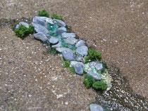 立山からの湧水を表現