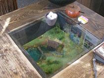 ギャラリーカフェ・珈夢のテーブル