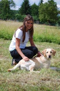 Monja Albert, Ergotherapeutin - Monja unterstützt seit August 2010 unser Team und ist eine wertvolle Kraft für Mensch und Tier geworden