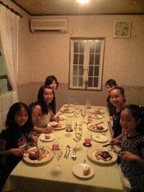 バレリーナの食事会