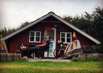 Campinghütte in Süd-Dänemark
