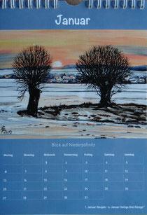 Kalender 2014 Weidaer Land kann man kaufen, In Weida Bücherstube, Benno Trampel Weida Markt,in Niederpöllnitz, Regina Fuchs