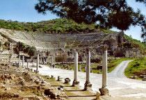 Teatro di Efeso, una delle mete di Paolo