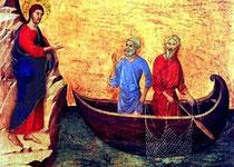 Pietro e Andrea suo fratello nel giorno  della chiamata di Gesù