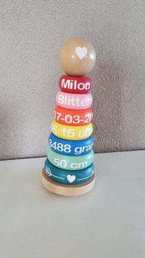 Geboortetoren hout € 12,95