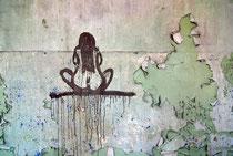 Wanddetail in den ehemaligen Beelitz-Heilstätten