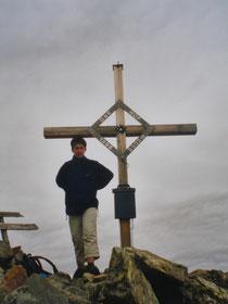 Am Gipfel des Gänsekragens