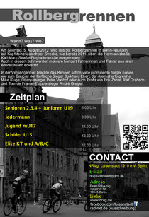 Handzettel (sj): Rollbergrennen 2012
