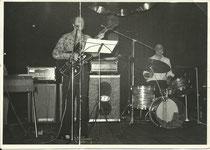 Schlagzeuger bei Siegfried-Brajer-Combo 1977 in Altlöbau