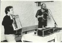 Wurzelkeller 1985 mit  Klaus Leda