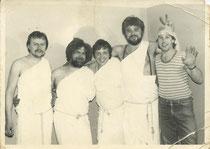 """Fasching im Goldenen Baum 1984 mit """"Kappe"""""""
