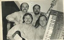 """1985 mit Peter """"Bruno"""" Gluche"""