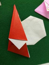 Dwarf Santa こびとサンタ origami Christmas