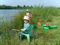 La pêche en famille à Verberie