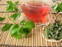 Verwendung von Stevia: Z.B. eine Tasse Tee